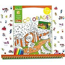 sycomore coloriage enfant cahier de coloriage 40 pages 5 ans modle