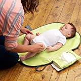 URSMART Foldable Napkins Baby Diaper Changing Mat Waterproof Baby Changing Mat Sheet Portable Diaper Changing Pad Care Product (black)