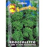 Vivai Le Georgiche Broccoletto o Cima di Rapa Quarantina (Semente)