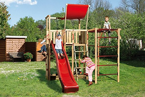Weka Kinderspielturm 816 C inkl. Rutsche