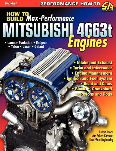 How to Build Max-Performance Mitsubishi 4g63t Engines por Robert Bowen