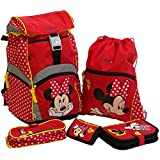 Sammies by Samsonite - Schulranzen Set 5 tlg. - Minnie Mouse