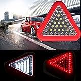Bazaar 39 LED Camping Flash Fackel Auto Licht Notarbeit Warnlampe Dreieck Magnethaken