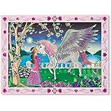 Melissa & Doug - 14296 - Peel & Press Sticker by Number - Mystical Unicorn