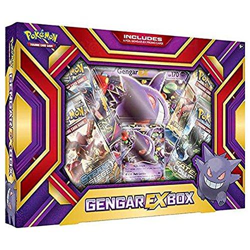 Pokemon TCG Card Game GENGAR EX BOX - 4 Booster Packs