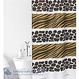 rideau motif africain voir aussi les articles sans stock cuisine maison. Black Bedroom Furniture Sets. Home Design Ideas