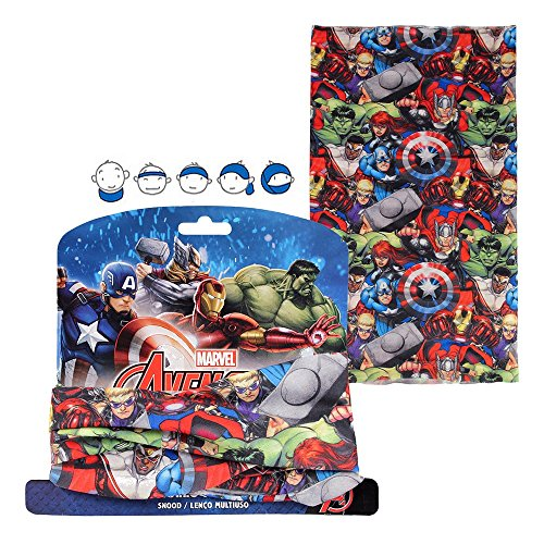 Cache col Les Avengers enfant Marvel echarpe foulard snood tour de cou Disney snoods, Vêtements