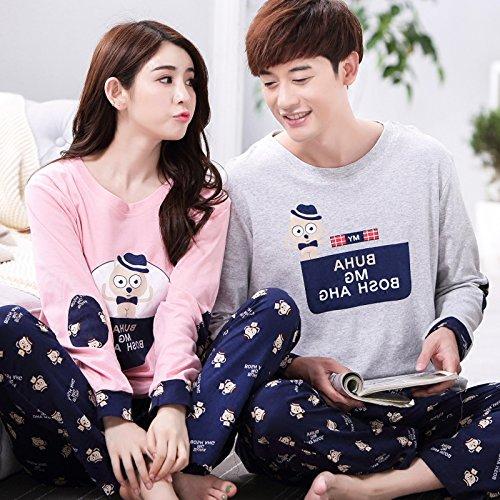 XNWP-En-primavera-y-otoo-la-pareja-pijama-de-manga-larga-de-algodn-de-manga-larga-Ralph-Lauren-cartoon-Pijamas-Ropa-plus-size-palo