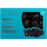 Flyberry Gourmet Ajwa Dates (Khajoor) Dry Fruits, 400 Gm