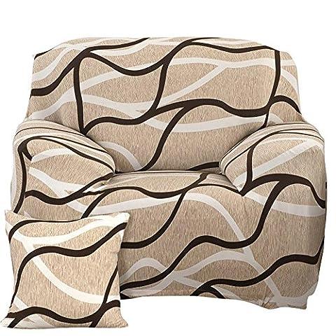 1/2/3/Assise en peluche souple extensible Housse de canapé Big élasticité Housse Canapé Slipcover meubles protecteur Cubierta para Canapé, 1 seater:90-140cm