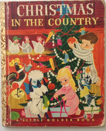Christmas in the Country (A Little Golden Book)