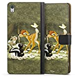 DeinDesign Sony Xperia XA Ultra Tasche Leder Flip Case Hülle Disney Bambi Merchandise Fanartikel