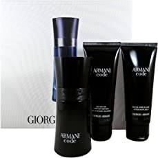 Giorgio Armani Armani Code homme/man Set, Eau de Toilette (50 ml), Duschgel (75 ml), After Shave Balm (75 ml)