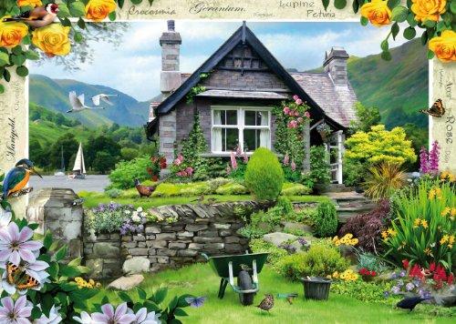 Imagen principal de Ravensburger - Puzzle (1000 piezas), diseño de casa de campo