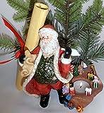 1 A Fiesta Lite P9841 de Navidad con velas de diseño de Papá Noel --- Diseño de Papá...