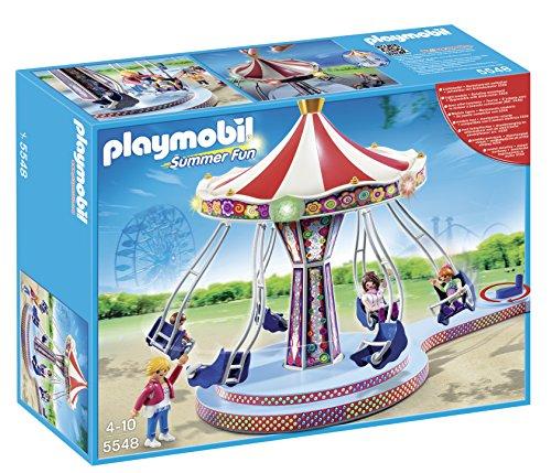 Playmobil Parque Atracciones - Carrusel columpios