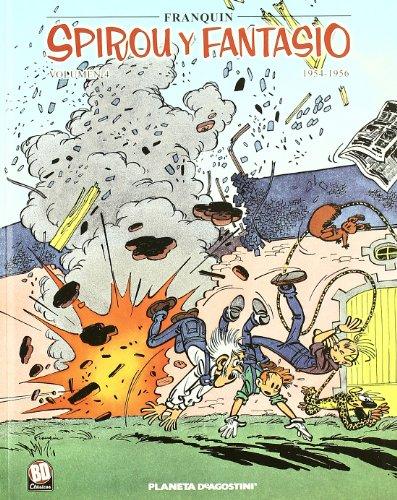 Spirou y Fantasio 1956-1958 nº 04/07 (Cómics BD 2 NO) por Franquin
