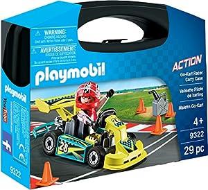 Playmobil- Maletín Go Kart Juguete, (geobra Brandstätter 9322)