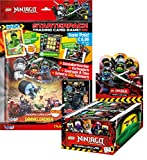 LEGO Ninjago - Serie 3 Trading Cards - 1 Display + 1 Starter - Deutsch