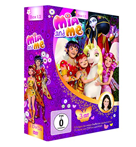 "Mia and me - ""Staffelbox 1.2"" - Staffel 1, Folge 14-26 [3 DVDs]"
