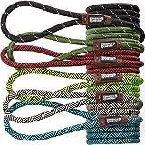 Extrem Haltbare Hund Slip Seil Leine Premium Qualität Klettern führen Stabile Unterstützung Pull für große und mittelgroße Pet 6Füße grün