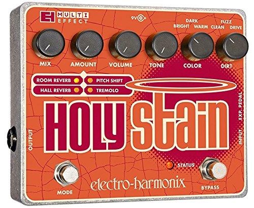Electro Harmonix 665157efecto de guitarra eléctrica con sintetizador Filtro Holy Stain