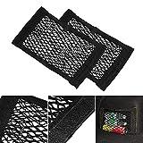 Universal Schwarz Auto Seiten Rückseiten Stamm Lagerung Net Taschen Beutel
