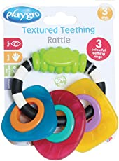 Playgro Textured Teething Shapes (Multicolor)