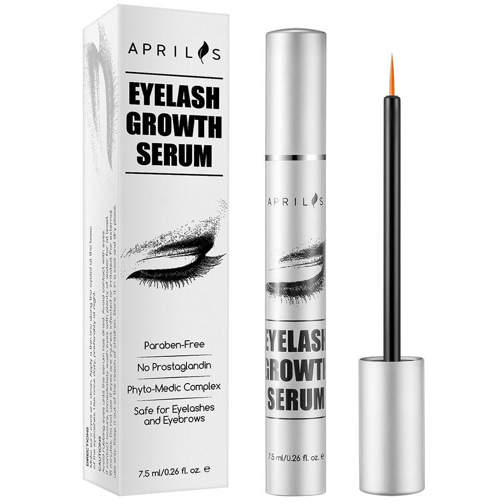 Longer Eyelash Growth Serum Treatment Fuller Eyebrow Enhancer