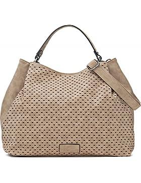 Umhängetasche - Damen Handtasche mit verstellbarem Schultergurt - Henkeltasche in Leder Optik - 40 x 29 x 13,5...