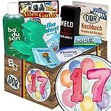 17 Geburtstagsgeschenke | Pflege Box | Geschenkbox | Pflegepaket | Geschenkidee 11 Jahrestag | mit Florena Creme, Elka Dent, Badusan und mehr