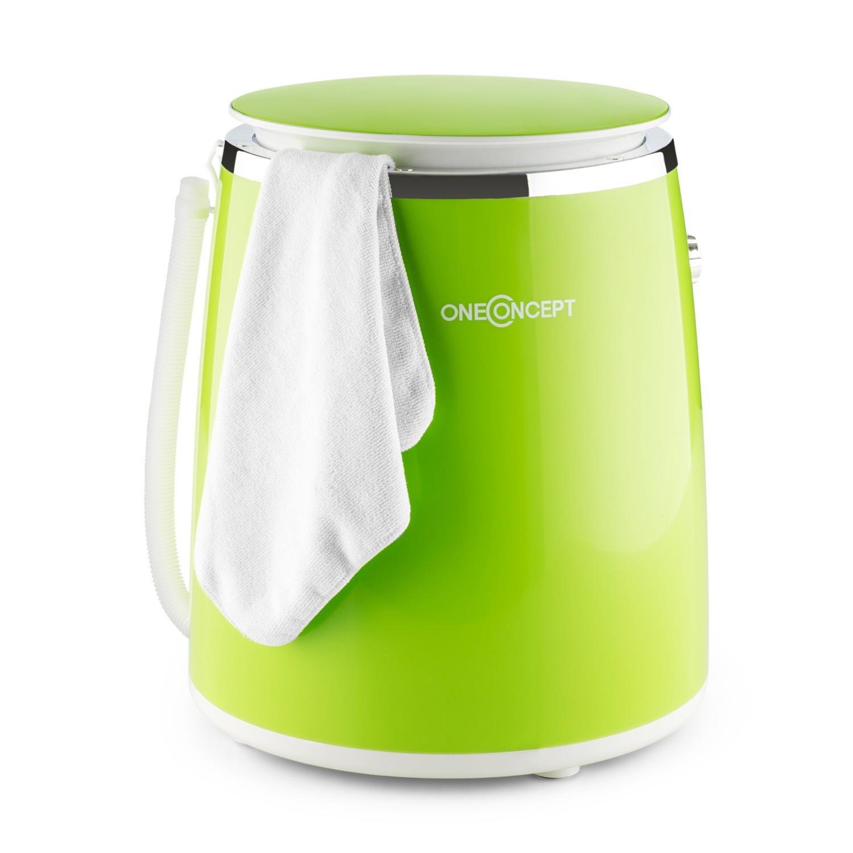 23489f8bf394 oneConcept Ecowash-Pico - Mini machine à laver lave-linge autonome avec  essoreuse pour