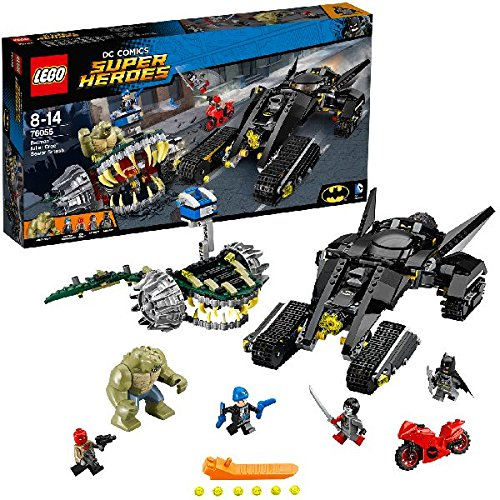 LEGO 76055 Super Heroes Batman Killer Croc Sewer Smash Construction Set