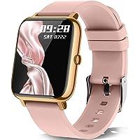 KALINCO Smartwatch, 1.4 Zoll Touch-Farbdisplay mit personalisiertem Bildschirm,Armbanduhr mit Blutdruckmessung…