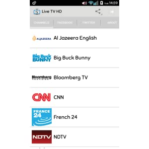 Live TV HD Pro: Amazon co uk: Appstore for Android