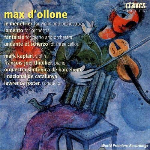 Le Ménétrier For Violin And Orchestra; Au Pays Natal