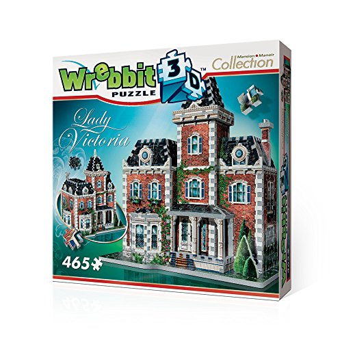 Englisch Manor Mansion (Wrebbit 3D 3D Puzzle Lady Victoria, Mansion & Manor Collection)