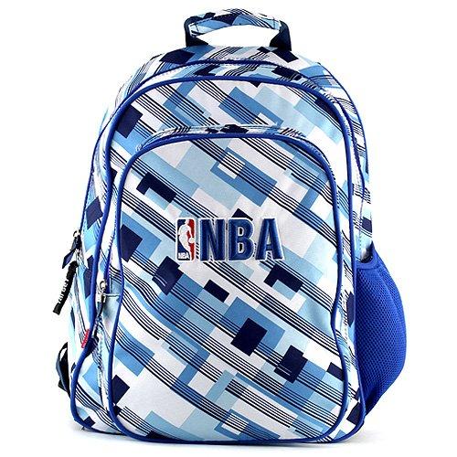 NBA Sac à Dos Enfants 44 cm Multicolore (Bleu/Blanc)