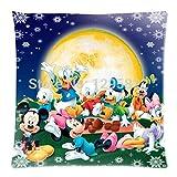 Mar Amor de Mickey Mouse y Donald Duck Custom con cremallera funda de almohada de 18x 18(un lado) (PC18–1000)