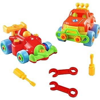 fajiabao vehicule construction jeu assemblage enfant jouet voiture jeu construction jeep 2 pcs. Black Bedroom Furniture Sets. Home Design Ideas