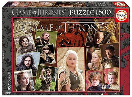 Juego de Tronos Puzzle 1500 Piezas 4 (Educa Borrás 17125