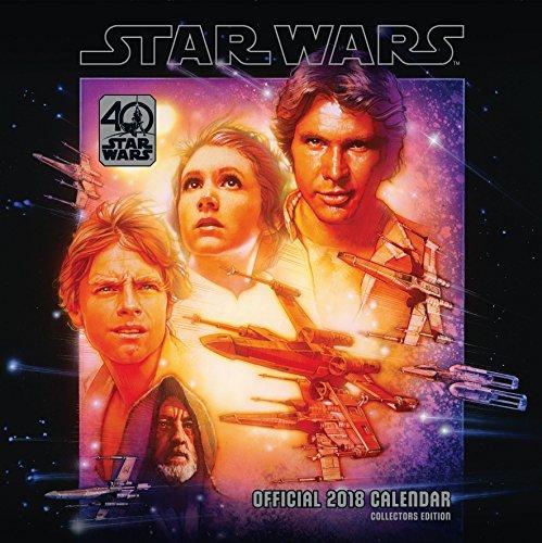 Preisvergleich Produktbild Star Wars 40th Anniversary Official 2018 Calendar - Square Wall Format (Calendar 2018)