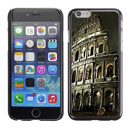 Graphic4You Manarola Italy Postkarte Ansichtskarte Design Harte Hülle Case Tasche Schutzhülle für Apple iPhone 6 / 6S Rome