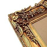 Prunk Bilderrahmen Antik Gold 60×50/ 30×40 cm (Vintage) Im Retro-Vintage look durch Handarbeit hergestellt für Künstler, Maler. Idealer Gemälde-Rahmen Barockrahmen für Ausstellungen STAR-LINE® - 3