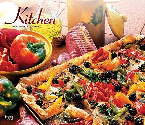 Kitchen - Küchenkalender 2019 - 18-Monatskalender: Original BrownTrout-Kalender - Deluxe [Mehrsprachig] [Kalender] por Inc. Browntrout Publishers