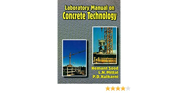 buy laboratory manual on concrete technology book online at low rh amazon in concrete technology lab manual anna university concrete technology lab manual jntuk