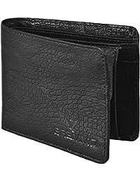Classis Best Selling Men's Leather Wallet - Black - 2 Fold