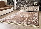 Orientteppich Adana Vintage Wohnzimmerteppich in Taupe, Größe: 280x380 cm