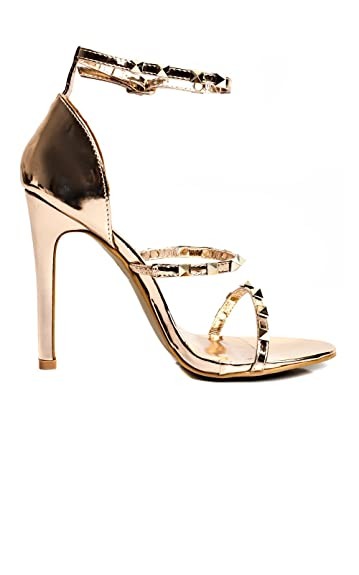 IKRUSH Women's Carly Platform Buckle Heels Size in Black Size 3 rMpSr
