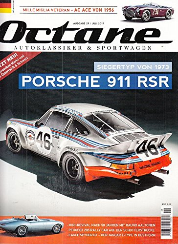 Octane #29 2017 Porsche 911 RSR Zeitschrift Magazin Einzelheft Heft